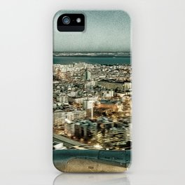 Lisbon sky view iPhone Case