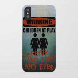 The Overlook Twins iPhone Case