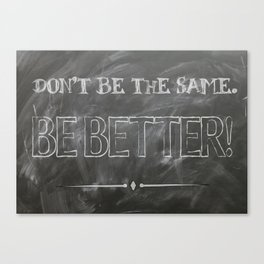 Inspirational Success Quote Canvas Print