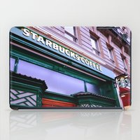 starbucks iPad Cases featuring Starbucks Coffee by Giada Ciotola by Giada Ciotola