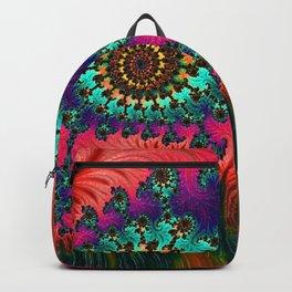 Eastern Love Fractal Art Backpack
