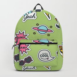 Party mix pattern Backpack