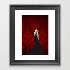 The maxi dress Framed Art Print