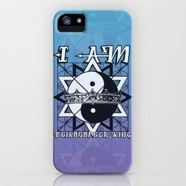 I AM - Philosopher King iPhone Case