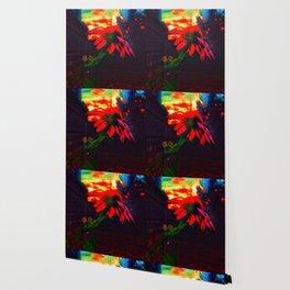 Neon Cone Flower Wallpaper