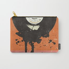 VINTAGE VINYL DRIP Carry-All Pouch