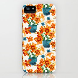 Lily Blossom iPhone Case