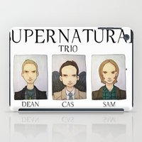 supernatural iPad Cases featuring SUPERNATURAL by Space Bat designs