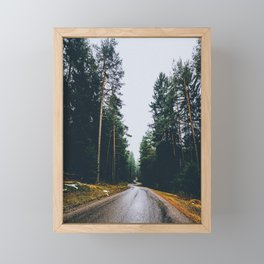 Road Trip V Framed Mini Art Print