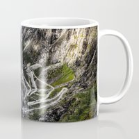 norway Mugs featuring Trollstigen, Norway. by Ar Ling Landscape photography