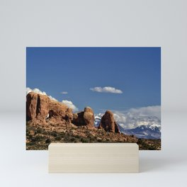 Between Two Worlds - Arches National Park Mini Art Print
