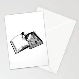 Drenched through my mind Stationery Cards