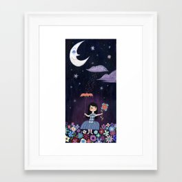There is just one moon... Framed Art Print