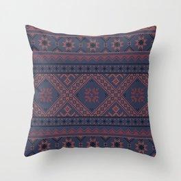 vyshyvanka 4 Throw Pillow