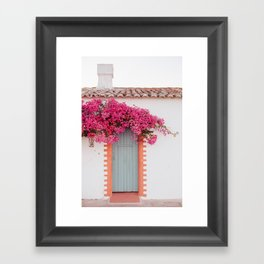 Summer Door Framed Art Print