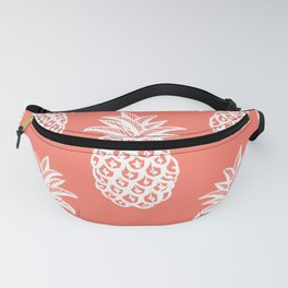 Coral Tropical Pineapple Summer Fanny Pack
