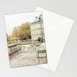 Jardin du Luxembourg Paris - France Travel in Autumn Stationery Cards