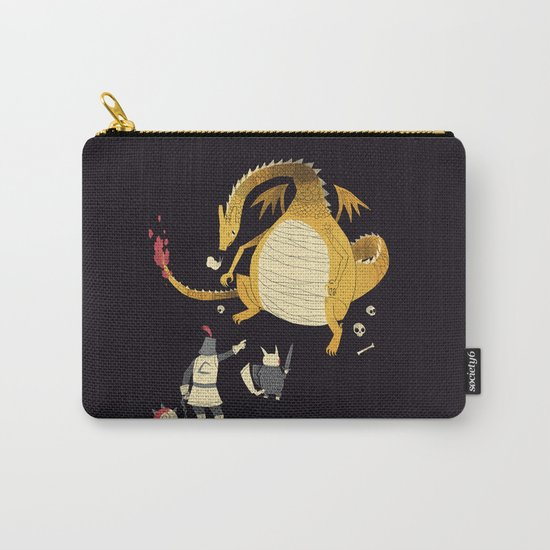 ye hath to catcheth them all(black) Carry-All Pouch