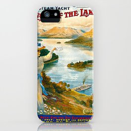 Furness Railway and Lady of the Lake iPhone Case