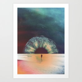 I am dawn Art Print