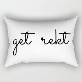 get rekt  Rectangular Pillow