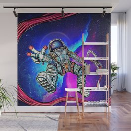 HOUSTON | we have no problem ! Wall Mural