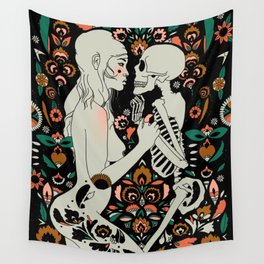 Grit, Pain, Love Wall Tapestry