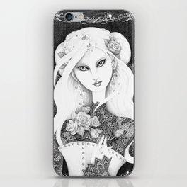 Midnight Rose iPhone Skin