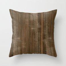 Australian Walnut Wood Throw Pillow