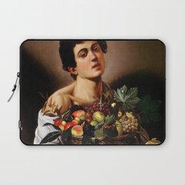 "Michelangelo Merisi da Caravaggio ""Boy with a Basket of Fruit"" 1593–1594 Laptop Sleeve"