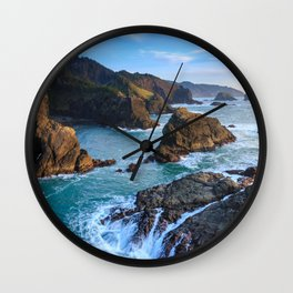 Indian Sands Sunset Wall Clock