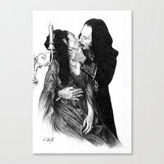Bram Stoker dracula Canvas Print