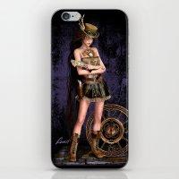 steampunk iPhone & iPod Skins featuring Steampunk by Loveit Designs