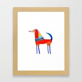 Year of the dog Framed Art Print