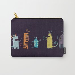 Secretly Vegetarian Monsters Carry-All Pouch