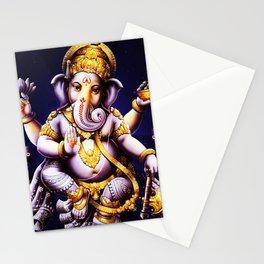 Hindu Ganesha 3 Stationery Cards