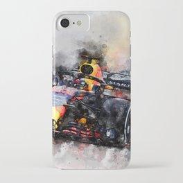 Max Verstappen Racing iPhone Case