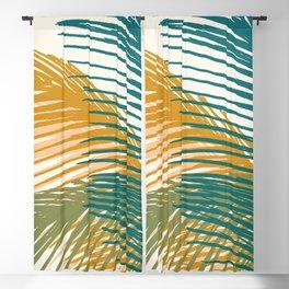 Golden Hour Palms Blackout Curtain