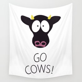 Go Cows T-shirt Wall Tapestry