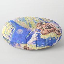 As It Is Floor Pillow