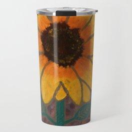 Sun Flower Reign Travel Mug