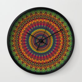 Mandala 529 Wall Clock