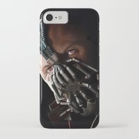 bane iPhone & iPod Cases featuring Bane by Rav Chaggar