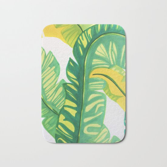 Banana tropical Bath Mat