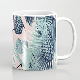 Tropical Pineapple Jungle Geo #2 #tropical #summer #decor #art #society6 Coffee Mug