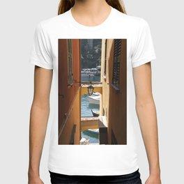 See-through in Portofino - Travel Photography Italy T-shirt