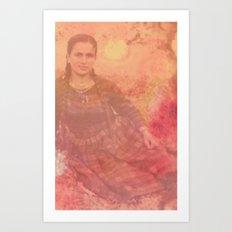 Yiayia Art Print