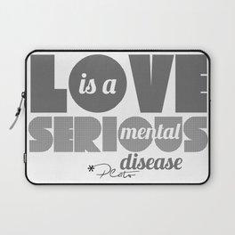 Love - By Plato Laptop Sleeve