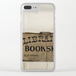 Librairie Bookshop Clear iPhone Case