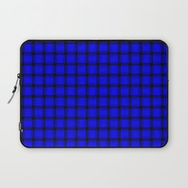Small Blue Weave Laptop Sleeve